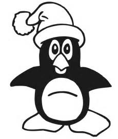 christmas penguin free coloring pages art coloring pages