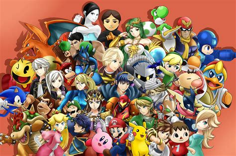 Smash Bros 3ds smash bros show ryu and roy in segmentnext