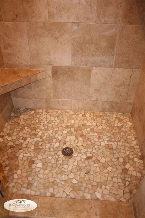 small bathroom ideas travatine tile river rock design 30 cool pictures and ideas pebble shower floor tile