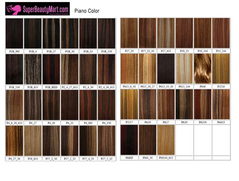 braiding hair color chart weave hair color chart photosgratisylegal