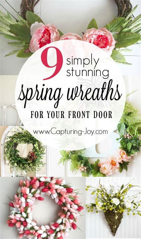 spring wreaths for your front door simply kierste design co 17 best images about home decor on pinterest quilt sets