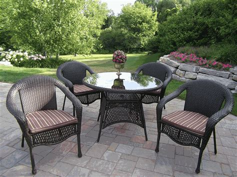 patio furniture wicker resin black resin wicker outdoor furniture bar dining set white