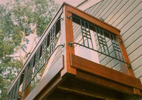 decks  metal railings  lots  deck railing ideas