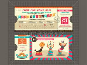 circus ticket template free ticket template for circus format of circus ticket