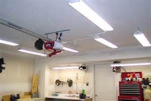 garage ceiling lights using commercial pendant lighting ideas