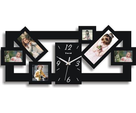 ceas cu rame foto din lemn home