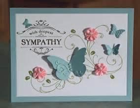 handmade sympathy card stin up thanks for caring
