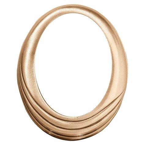 cornice ovale cornice ovale 9x12cm in bronzo a parete 239 912