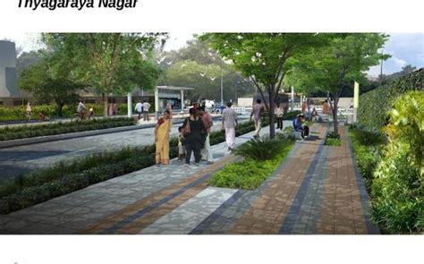 home design plaza in ta pondy bazaar pedestrian plaza design ready the hindu