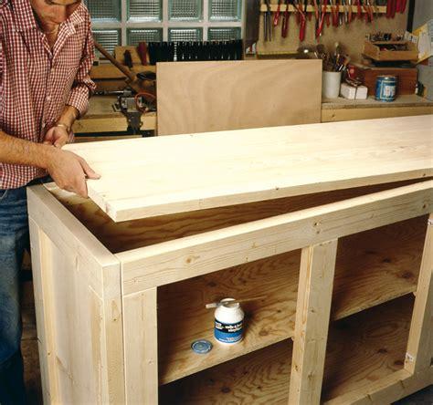 comment fabriquer un meuble de rangement en bois