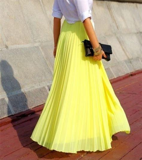 skirt maxi skirt yellow skirt maxi skirt
