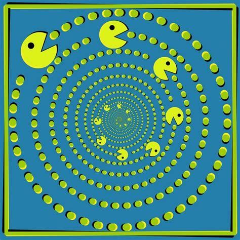 imagenes visuales que engañan hermanosaban mandalas fractales efectos visuales y