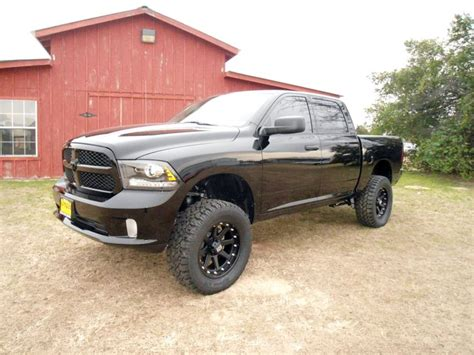 2014 ram 1500 4 inch lift 2014 ram black express 4x4 with a 6 inch pro comp lift kit