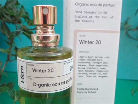 ffern winter  organic natural perfume