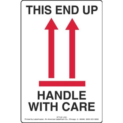 this end up this end up handle with care label with arrows fragile labels