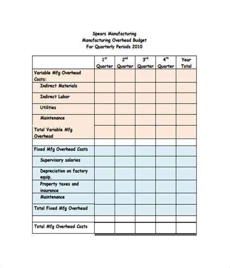 21 budget templates free word pdf documents