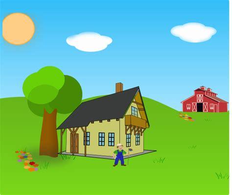 farm background clip art  clkercom vector clip art
