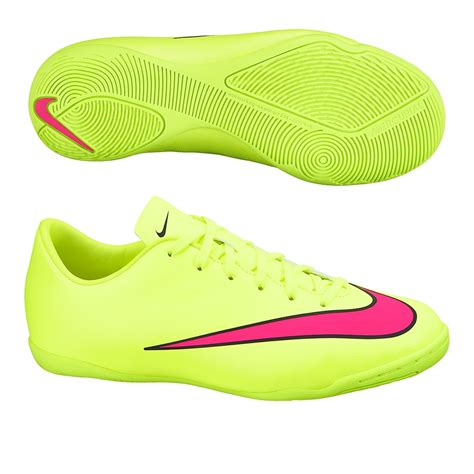 nike indoor soccer shoes nike youth mercurial victory v indoor soccer shoes volt