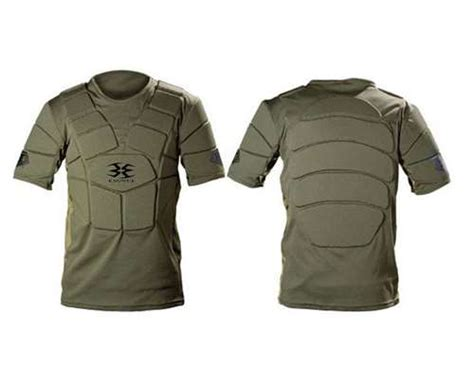 Tshirt Airsoft Gun Trader Bdc empire bt paintball chest protector olive small medium