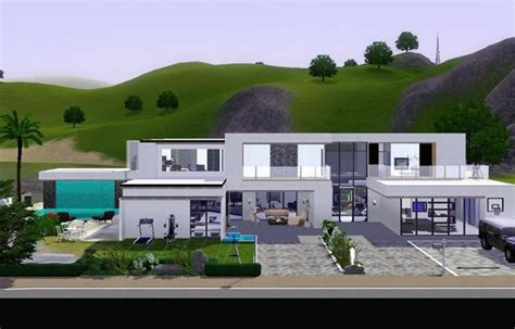 modern house plans sims 3 25 best ideas about sims3 house on pinterest sims 3 rooms sims house and tiny