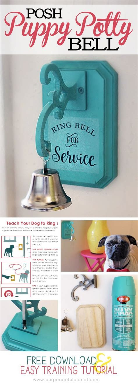house training a dog with a bell how to potty train a dog to use a bell how to make one 183 tutorials dog and ring