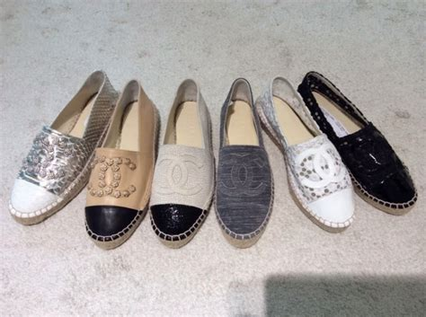 Chanel Espradilles chanel espadrilles the new cruise 2015 collection the