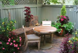 Patio Designs For Townhouse Eclectic Small Townhouse Courtyards