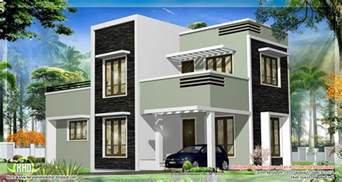 flat roof house plans in kerala also great home design