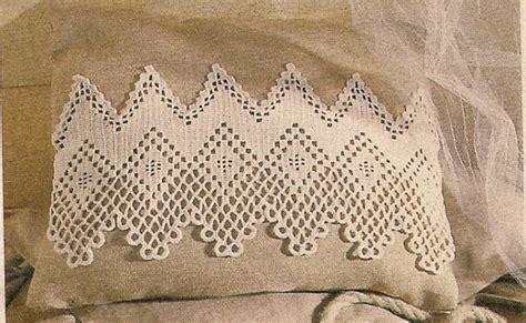 burda tende lo spazio di lilla splendide bordure all uncinetto con schemi