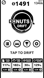 Donuts Drift MOD (Unlimited money) 1.5.9 Latest Download