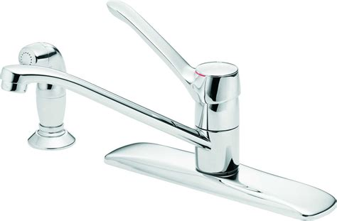moen single handle kitchen faucet leaking moen kitchen faucet leaking from spout best faucets