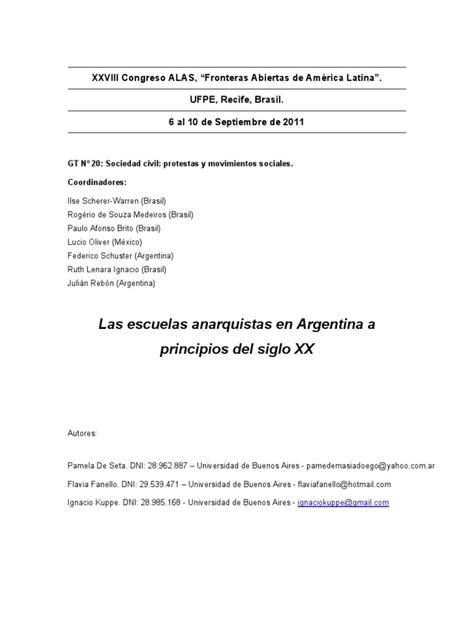 11_8_2011_0!3!38. Las Escuelas Anarquistas en Argentina a
