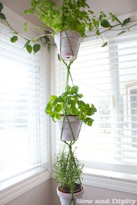 Indoor Plant Hangers Macrame - to begin your indoor diy macram 233 herb garden hanger