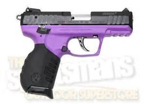 purple frame ruger sr 22 semiauto pistol $299.99 + free