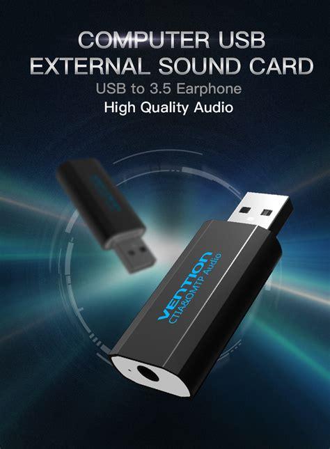 Usb Sound Card Murah vention external usb sound card black jakartanotebook