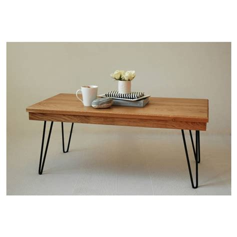 hairpin legs harry coffee table with hairpin legs by renn uk