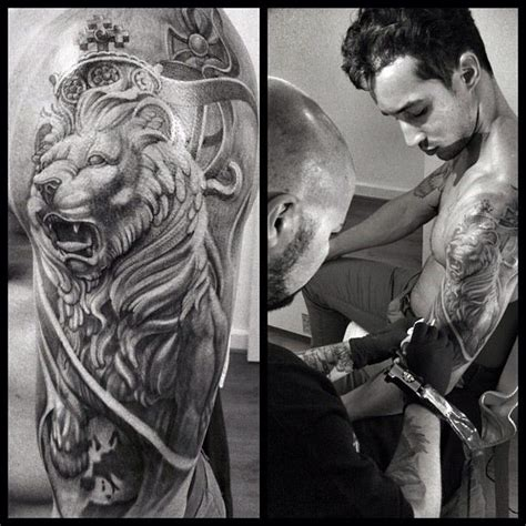 lion sleeve tattoo 17 best images about tattoos on a