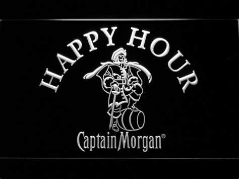 captain neon sign captain happy hour led neon sign safespecial