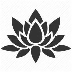Lotus Flower Icon Bloom Floral Flower Lotus Nature Plant Water Plant