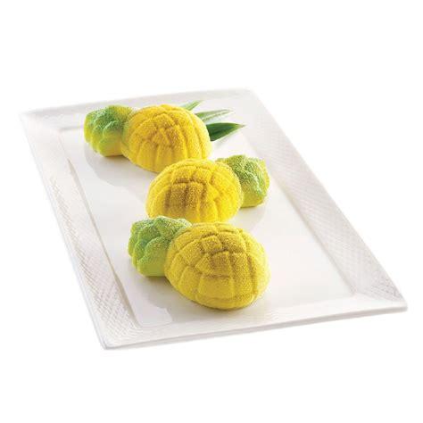 moldes de silicona maria molde de silicona mini ananas silikomart