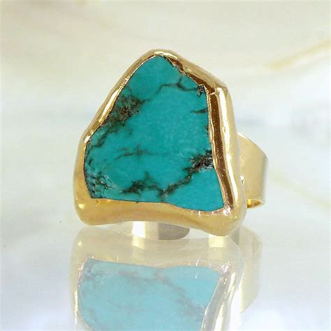 turquoise birthstone december birthstone turquoise ring turquoise by inbalmishan