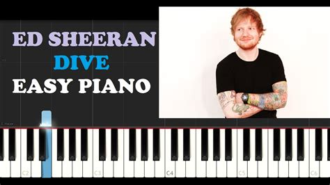 ed sheeran dive mp3 ed sheeran dive easy piano tutorial youtube