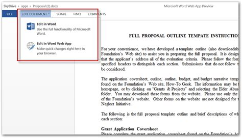 Can You Edit Microsoft Office Documents On