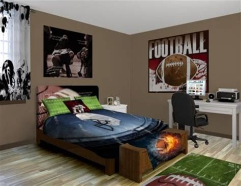 football bedrooms football bedroom boys home renovation ideas pinterest