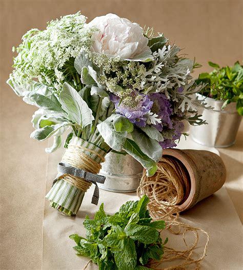 Wedding Bouquet Herbs by Wedding Flowers Herb Details Decor