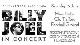 Siriusxm Billy Joel Sweepstakes - billy joel manchester old trafford football ground sweepstakes