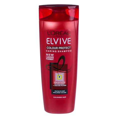 Loreal Elvive b m l oreal elvive colour protect caring shoo 500ml