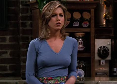 why did stephanie abrams cut her hair jennifer aniston s reaction to quot nipple gate quot on friends