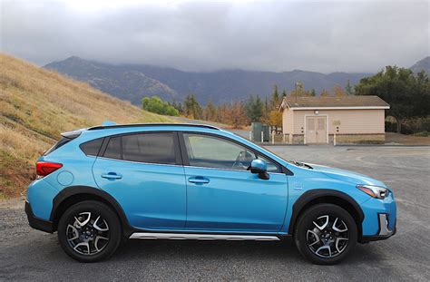 2019 subaru hybrid weekend warrior 2019 subaru crosstrek hybrid test drive