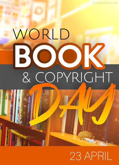 world book  copyright day  april  words     downloads   sharing